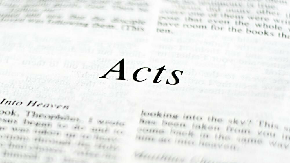 Wednesday Class - Book of Acts